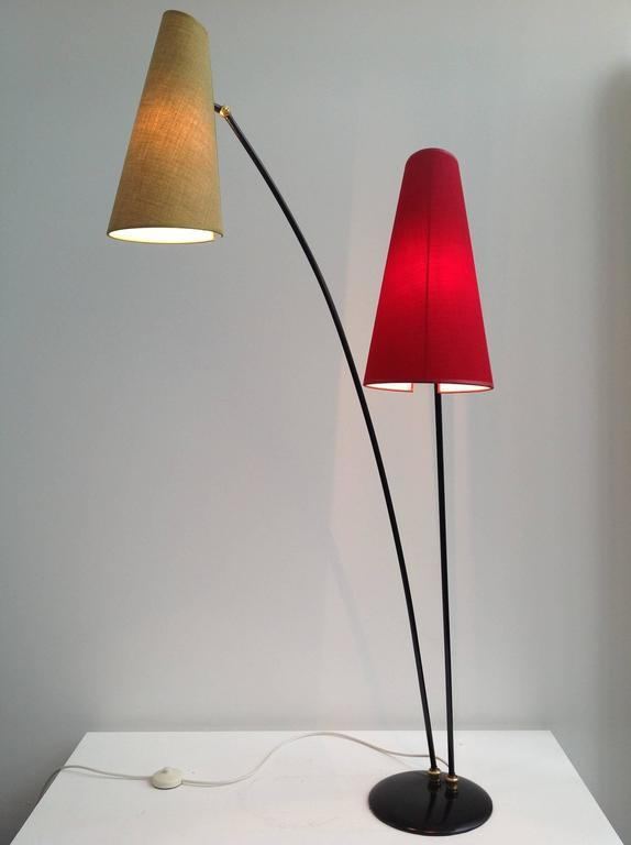 Beautiful and elegant italian floor lamp anno 1950 for for Beautiful floor lamps