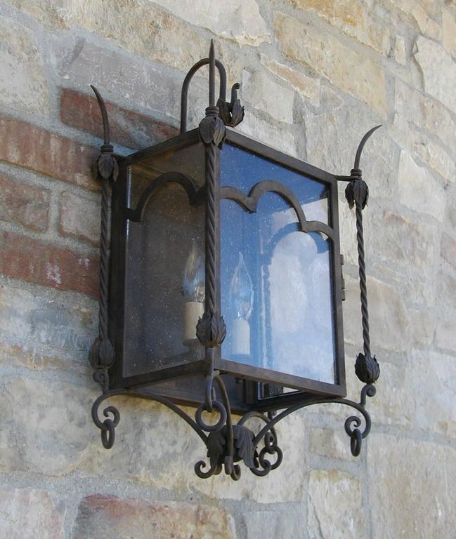 American Exterior Iron Wall Mount  For Sale