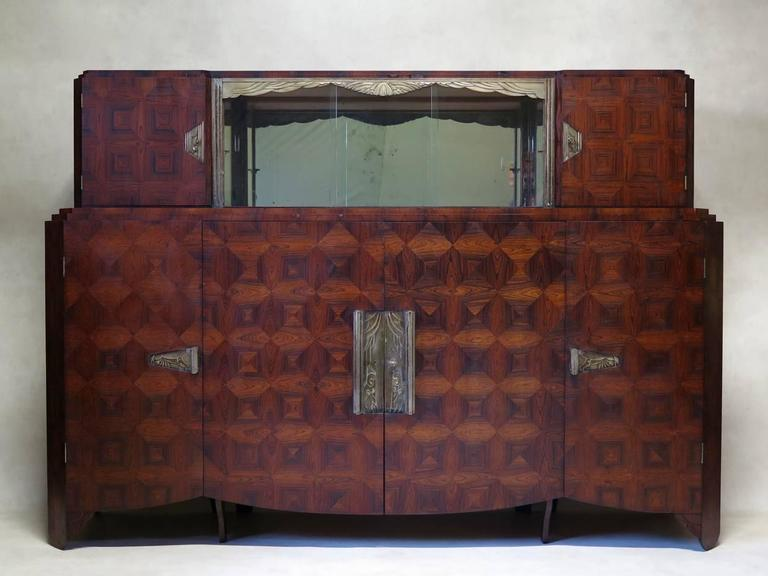 art deco dining room set by mercier freres france 1920s