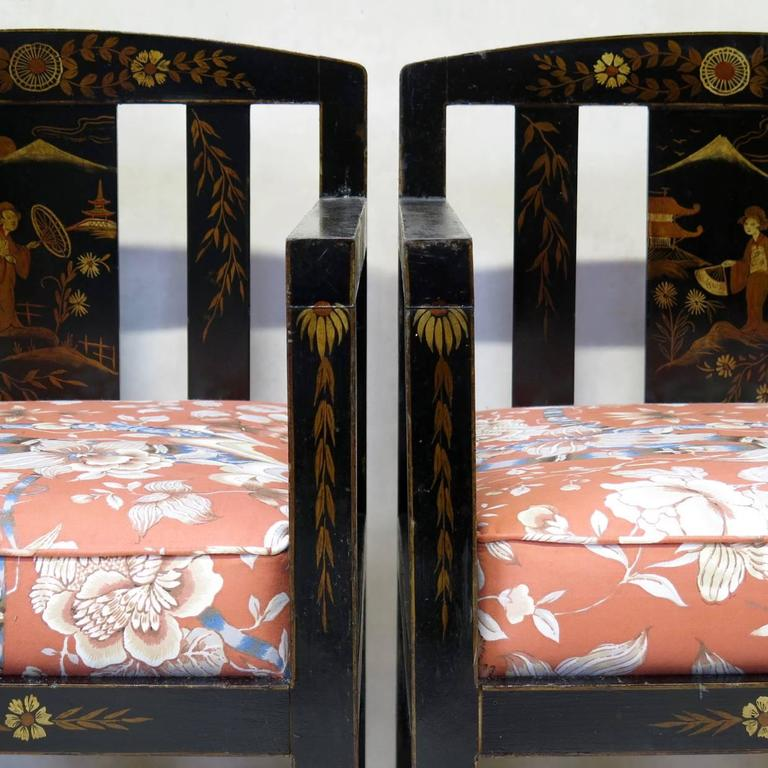 Chinese Art Deco Style Living Room Set For Sale At 1stdibs