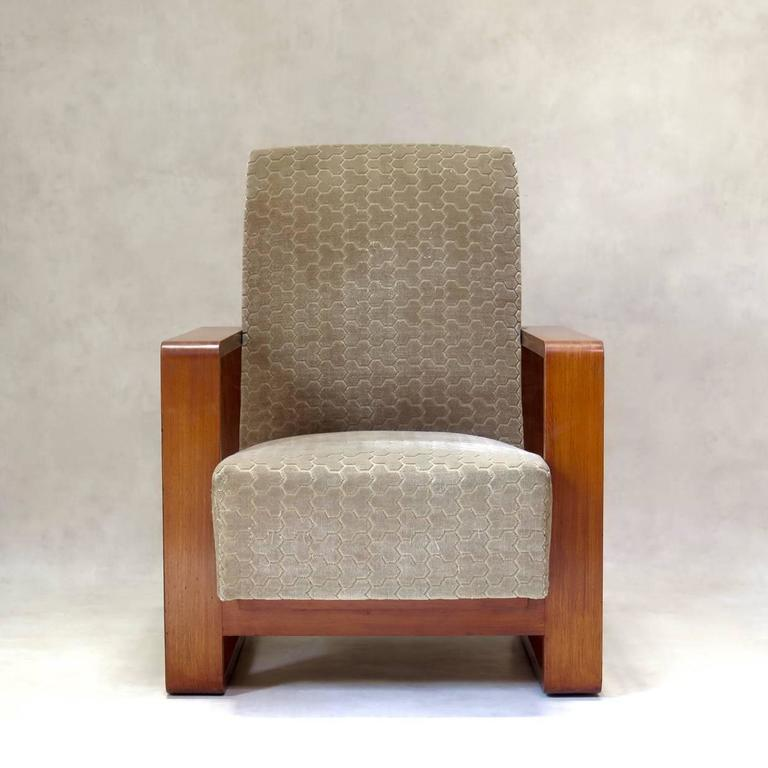 Sofa And Two Armchairs France 1950s At 1stdibs