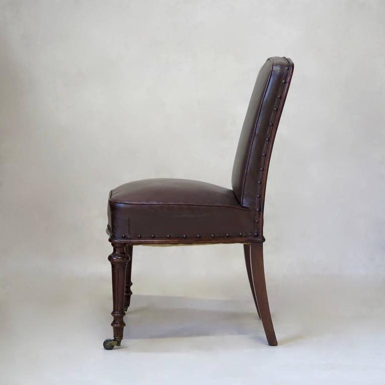 Louis Philippe French 19th Century Desk Chair For Sale