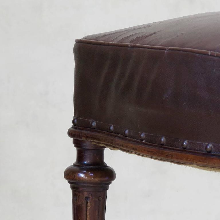French 19th Century Desk Chair For Sale 1