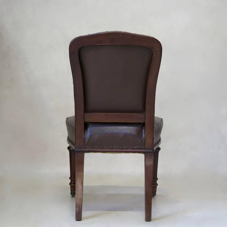 French 19th Century Desk Chair In Good Condition For Sale In Isle Sur La Sorgue, Vaucluse