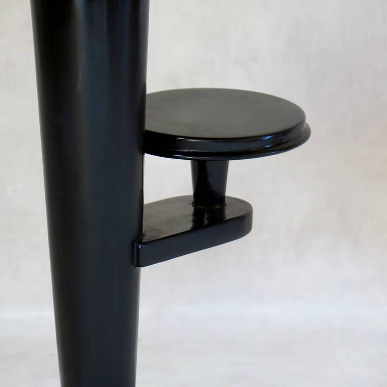 20th Century Art Deco Lacquered Gueridon, France, circa 1930s For Sale