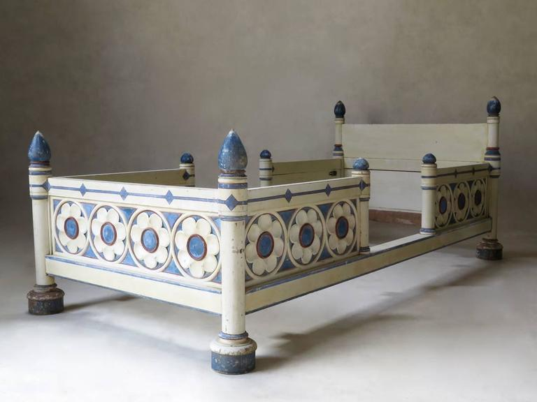 Gothic style twin beds france circa 1920s for sale at for Gothic style beds for sale