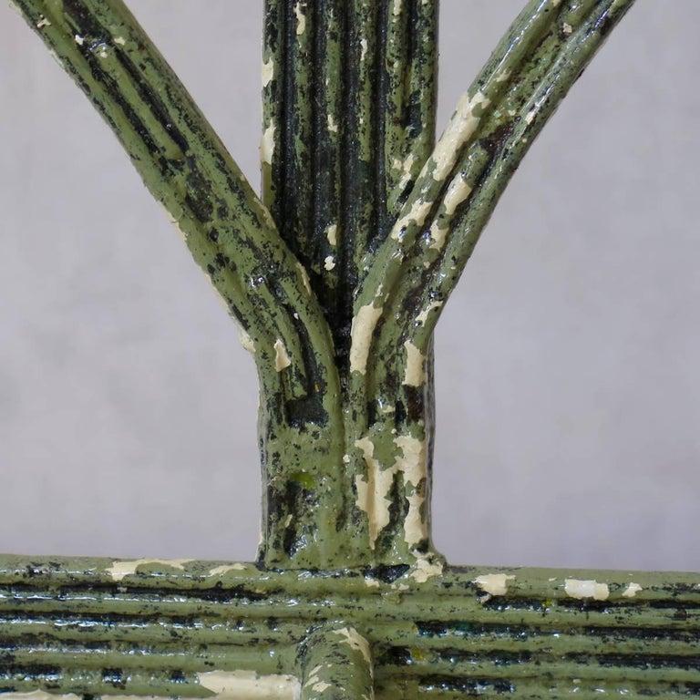 Regency Iron Bench, England, Early 19th Century 6