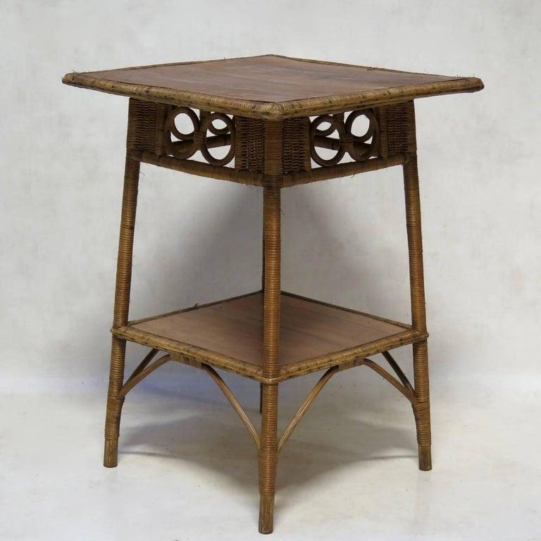 1920s French Wickerwork Set For Sale 3