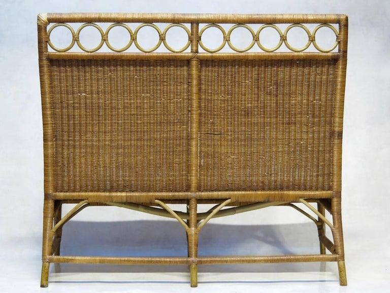1920s French Wickerwork Set For Sale 1