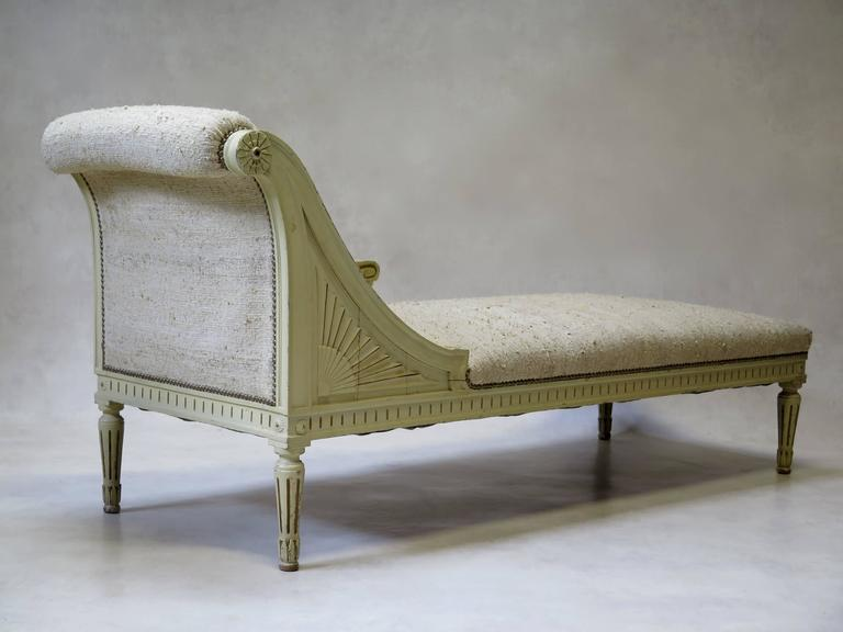 Louis xvi style chaise longue france circa 1920s for for 1920s chaise lounge