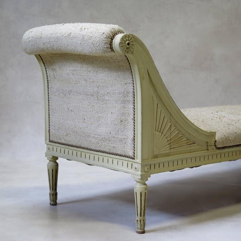 louis xvi style chaise longue france circa 1920s for. Black Bedroom Furniture Sets. Home Design Ideas