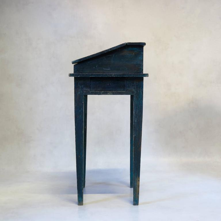 Painted Writing Desk, France, circa 1850s For Sale 2