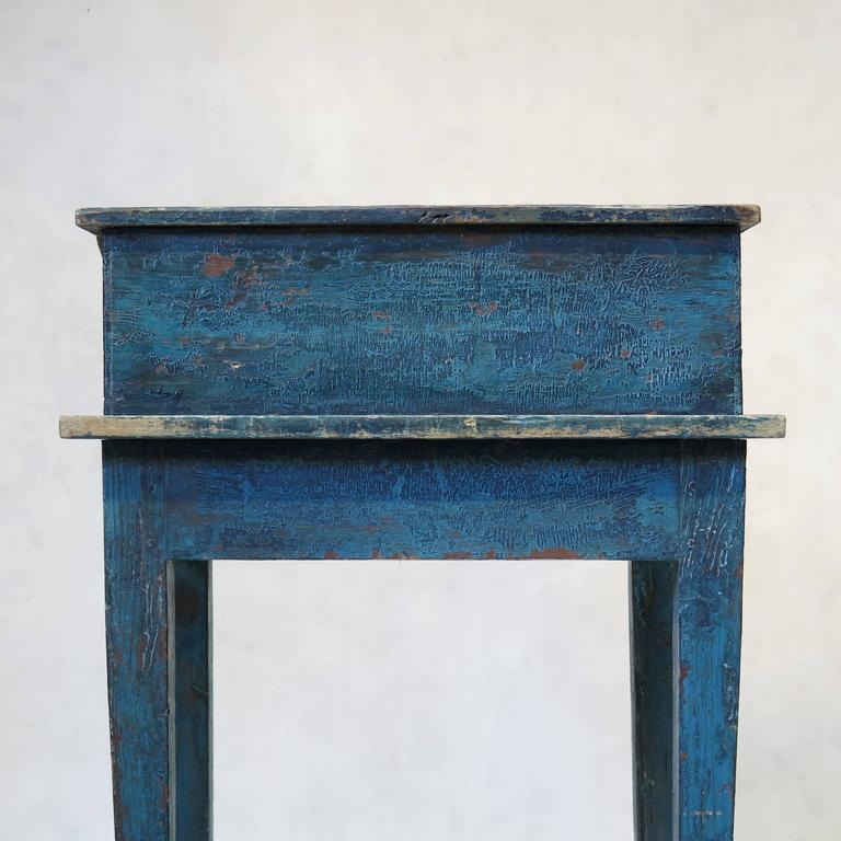 Painted Writing Desk, France, circa 1850s For Sale 4