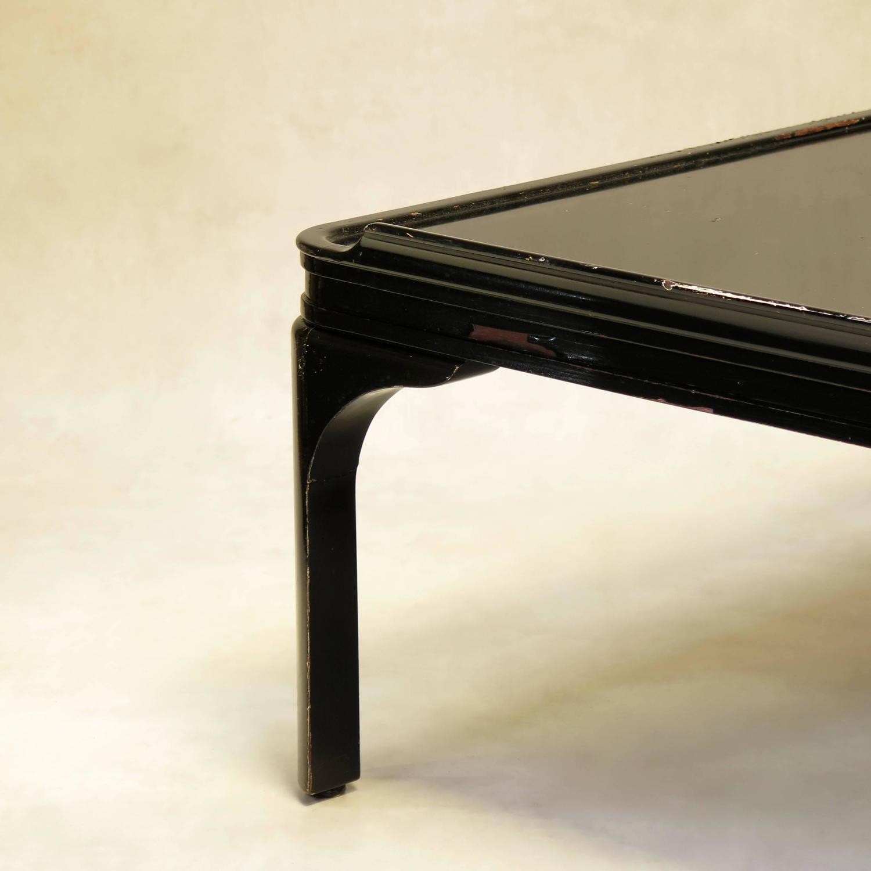 Art deco square coffee table
