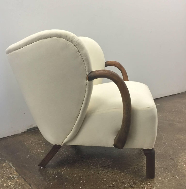 Danish Chair,  in the style of Viggo Boesen  For Sale