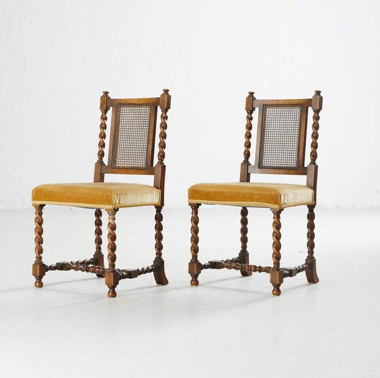 20th Century Eight Dining Chairs by Axel Einar Hjorth for NK For Sale