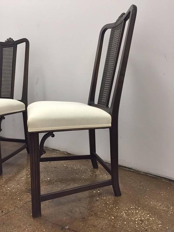 6 Dining chairs by Axel Einar Hjorth for NK, circa 1930s In Excellent Condition For Sale In Long Island City, NY