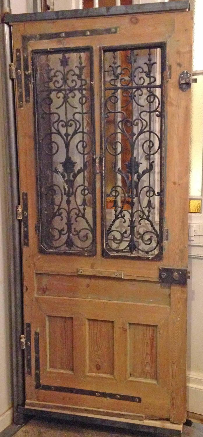 Single antique french door for sale at 1stdibs for Double doors for sale
