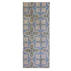 Reclaimed Blue Murale Tiles