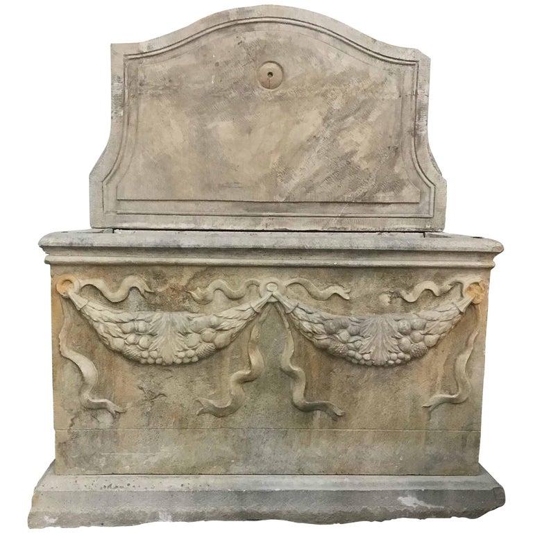 Tuscany Fountain, circa 1880