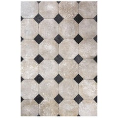 French Octagonal Limestone Flooring