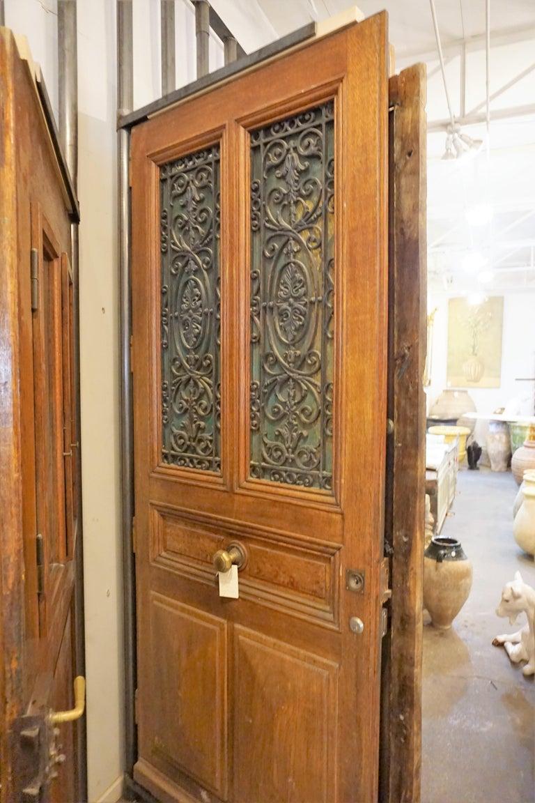 French Ornate Antique Oak Door For Sale - Ornate Antique Oak Door For Sale At 1stdibs