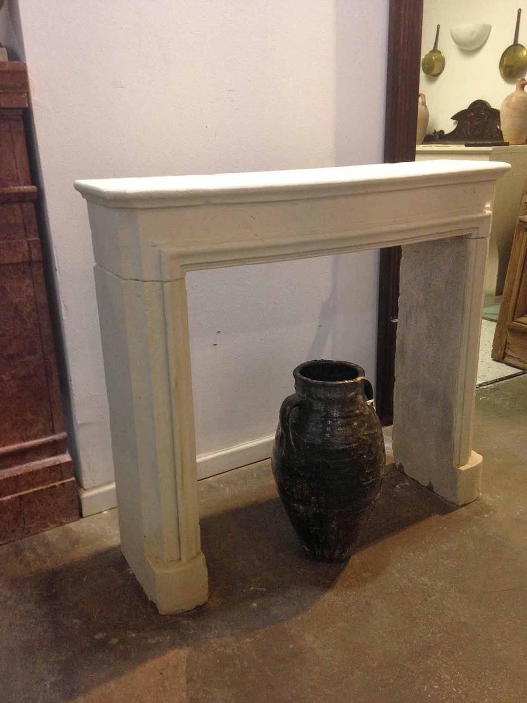 Antique Limestone Mantel At 1stdibs
