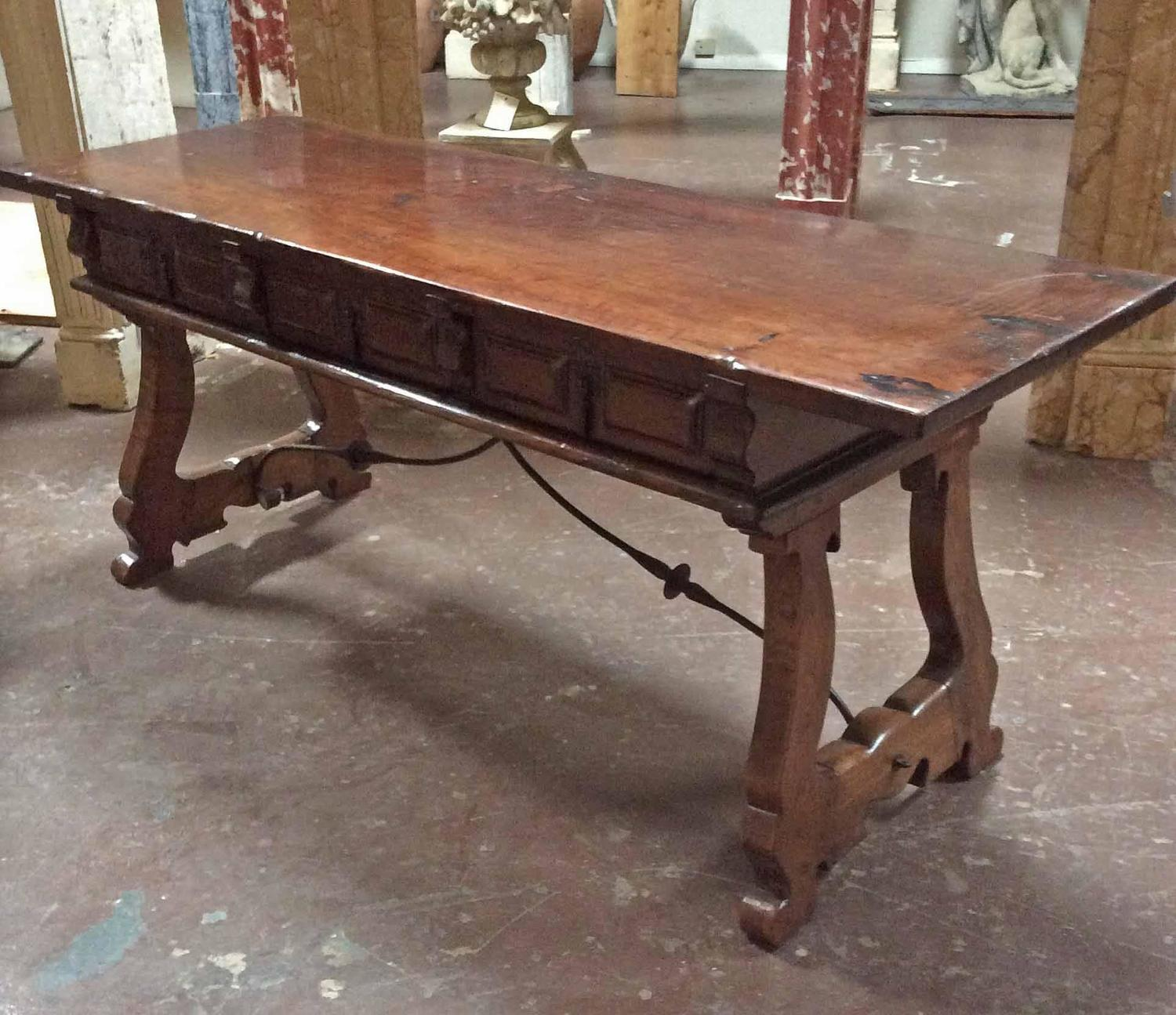Antique Spanish Coffee Table At 1stdibs