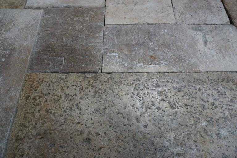 This unique antique flooring dates back to the 16th century. Reclaimed from the burgundy region of France, this flooring's natural patina and texture are unique to the lot it came from. Once this last lot is sold there's no way to re-order it.