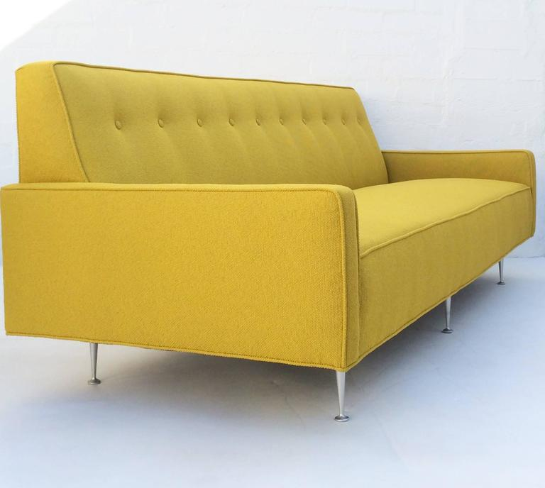 Mid Century Modern Thin Edge Sofa By George Nelson For Herman Miller