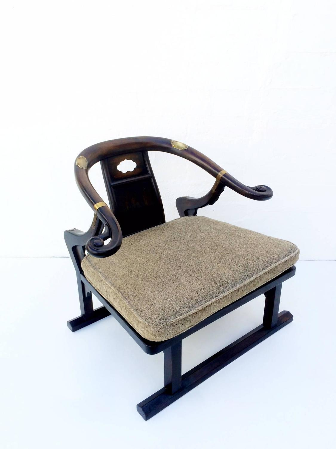 Walnut Lounge Chair By Baker Furniture Company For Sale At 1stdibs