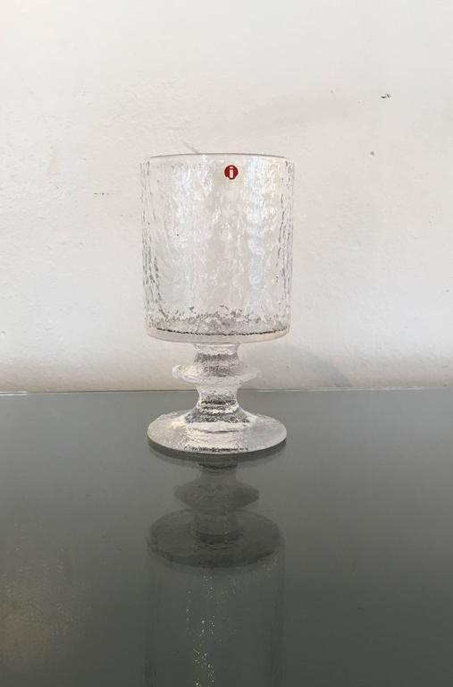 Cast Rare Service for Eight Drink Set by Timo Sarpaneva for Iittala For Sale