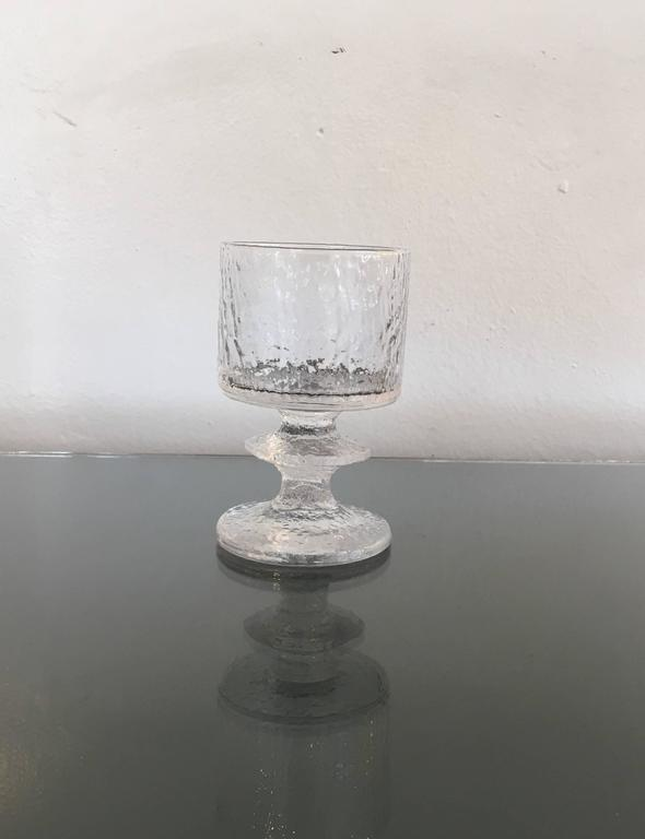 Mid-20th Century Rare Service for Eight Drink Set by Timo Sarpaneva for Iittala For Sale