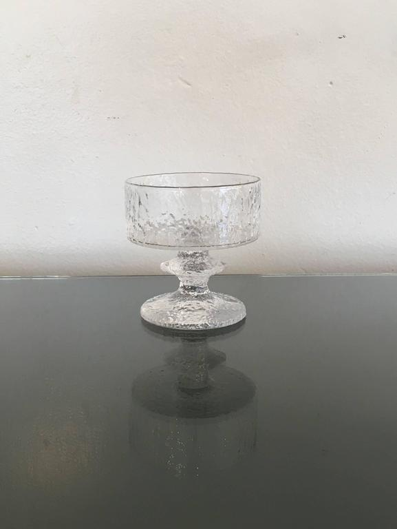 Crystal Rare Service for Eight Drink Set by Timo Sarpaneva for Iittala For Sale