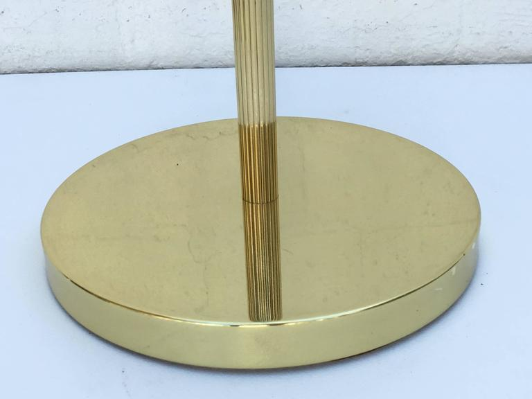 Pair of 1970s Adjustable Brass Floor Lamps 6