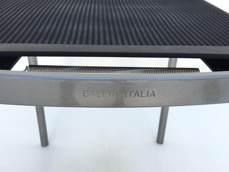 Four Café Staking Chairs by Philippe Starck for Cerruti Baleri For Sale 1