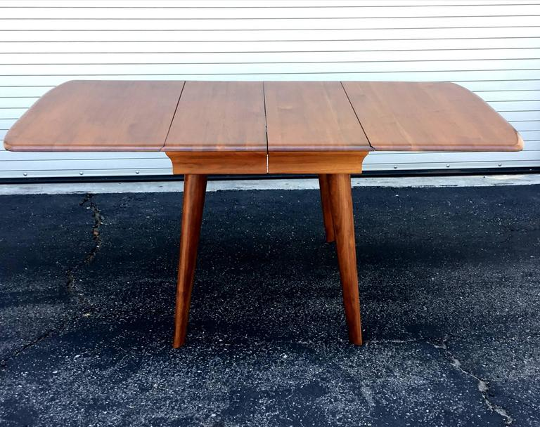 Dark Walnut Dining Table Set By Carl Bissman For Sale At