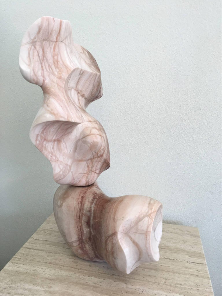 Unknown Solid Marble Kinetic Sculpture For Sale