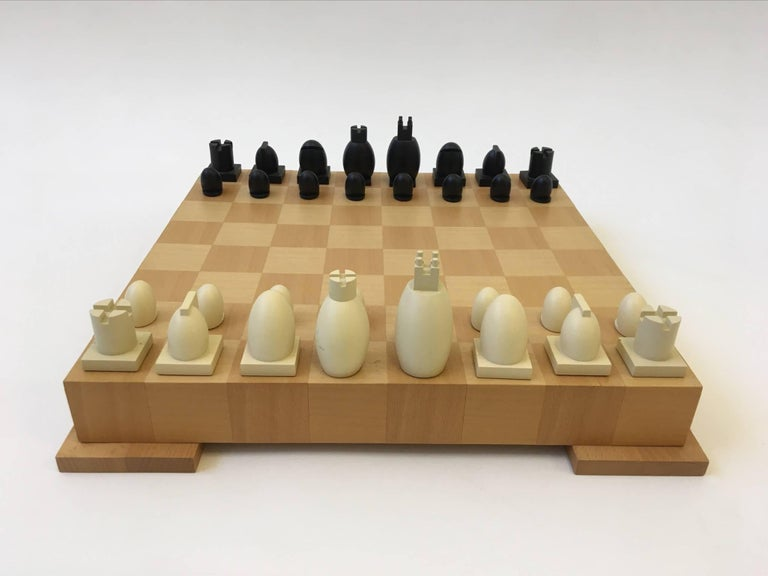 Wood And Composites Chess And Checkers Set By Architect