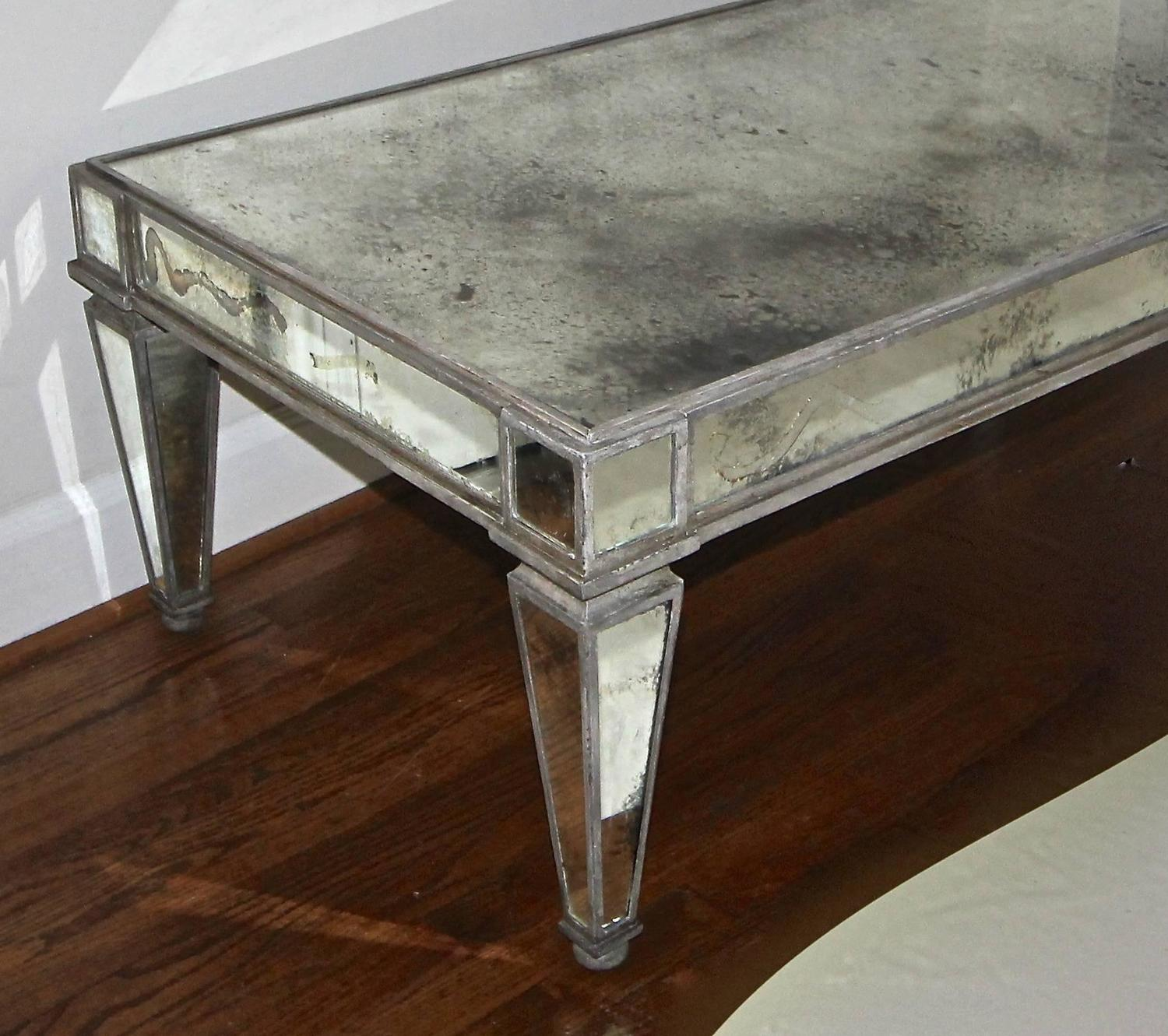 Mirrored Coffee Table Sale