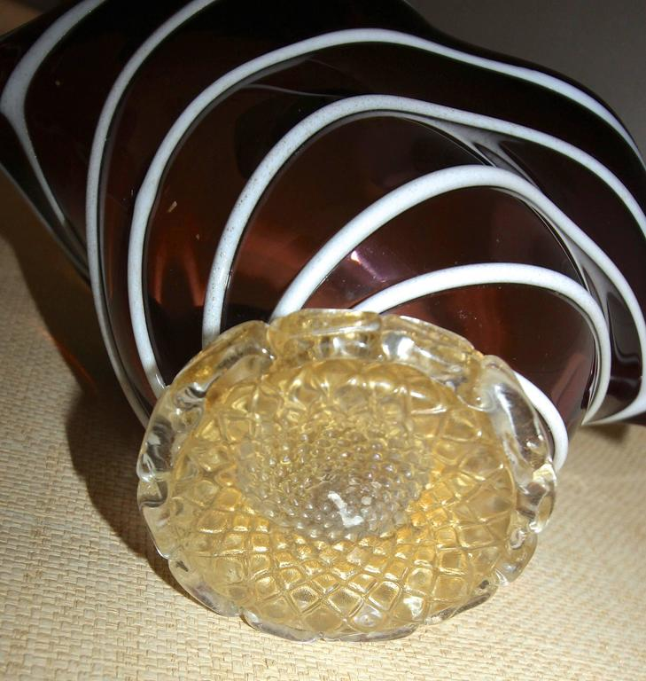 Barovier Murano Glass Centerpiece Bowl For Sale 4