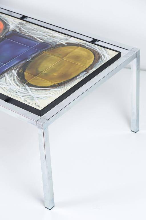 Late 20th Century Juliette Belarti Coffee Table For Sale