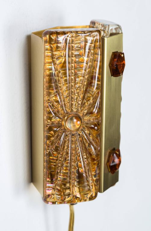 Mid-20th Century Pair of Belgian Sconces For Sale