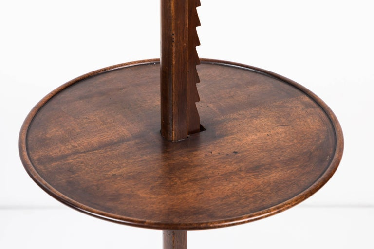 20th Century Walnut Floor Lamp For Sale