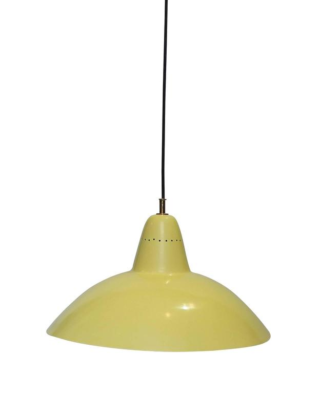Italian Sliding Hanging Lamp, in the style of Arredoluce, Italy, 1950 For Sale