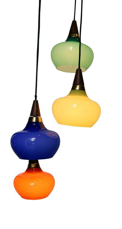 1950s Danish Light Suspension For Sale 1
