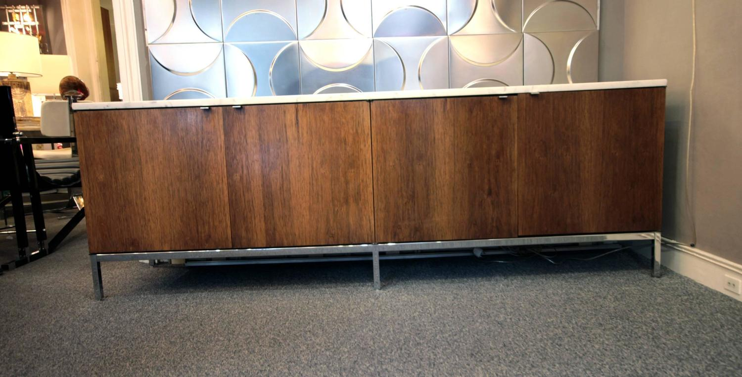 Large credenza by florence knoll for knoll international for Enfilade florence knoll