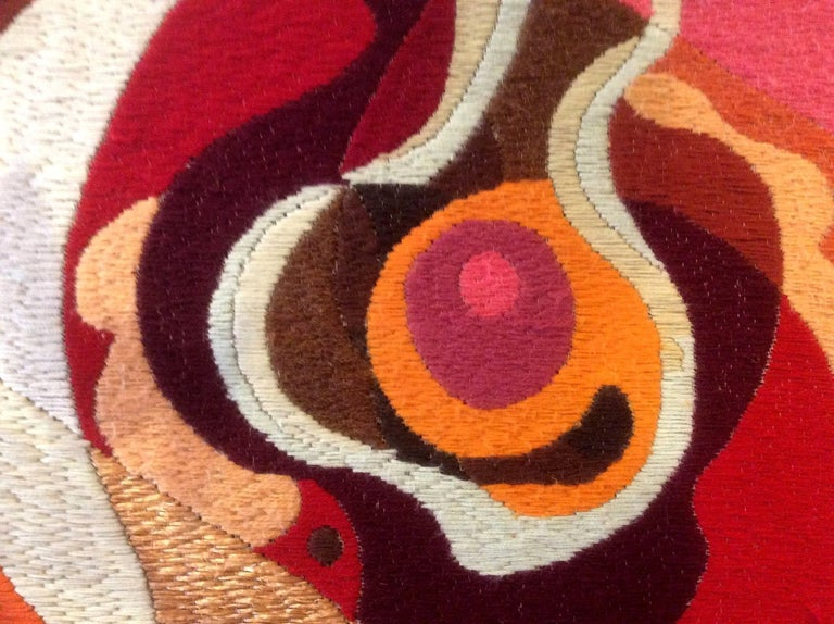 Two Large Tapestries by Erminio Lozzi, 1970s Period For Sale 4
