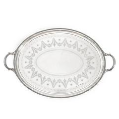 Stunning Elkington & Co. Sterling Tray