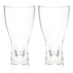 Steuben Modernist Water Glasses by Donald Pollard Set of 14